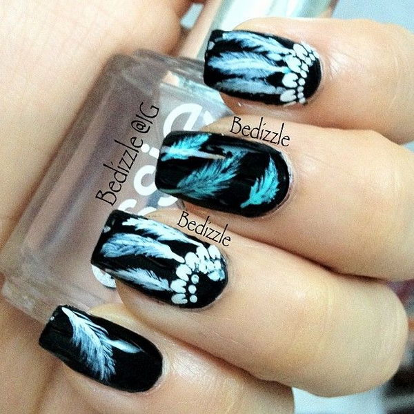 35 Cool Dream Catcher Nail Designs For Native American Fashion Hative
