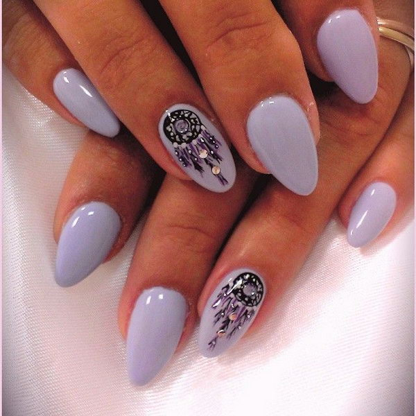 lots of dream catcher nail designs and ideas how beautiful and unique