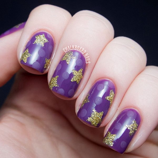 50 Cool Star Nail Art Designs With Lots Of Tutorials And