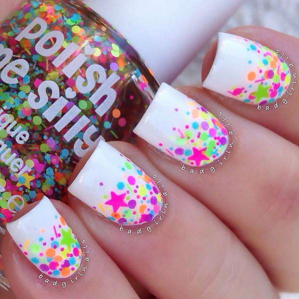 50+ Cool Star Nail Art Designs With Lots of Tutorials and Ideas - Hative