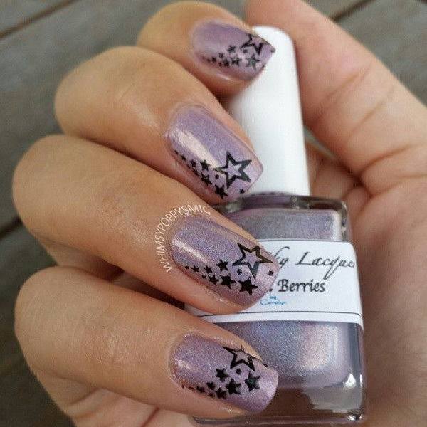 Purple Star Nails - 50+ Cool Star Nail Art Designs With Lots Of Tutorials And Ideas