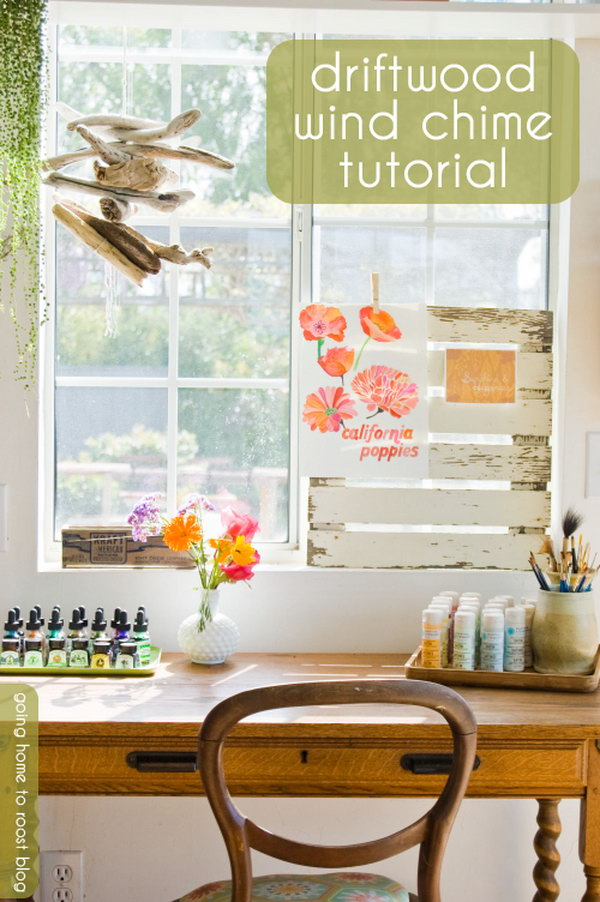 DIY Driftwood Wind Chime. Get the instructions
