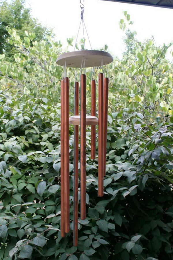 Copper Wind Chime. See the directions