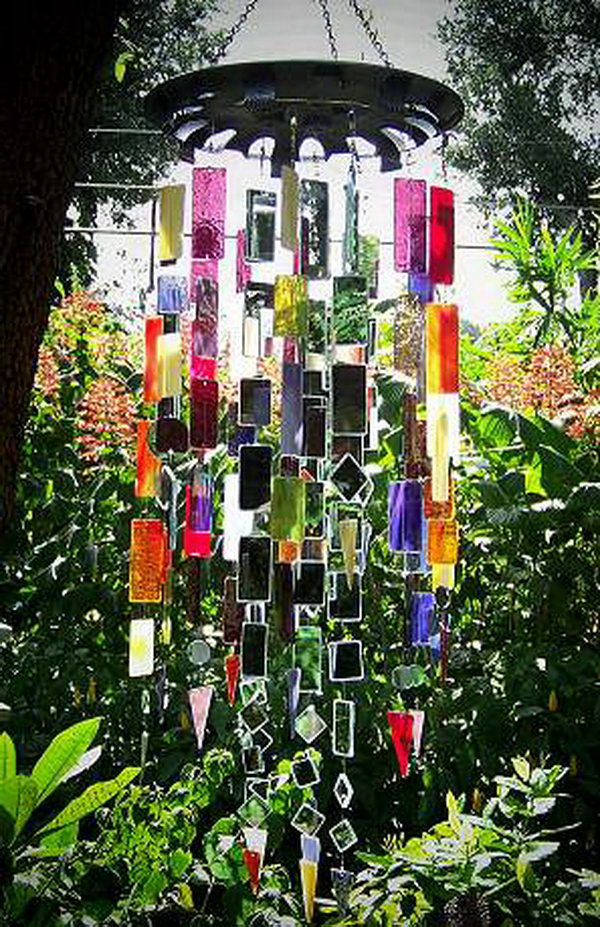30 amazing diy wind chime ideas tutorials hative for How to learn glass painting at home