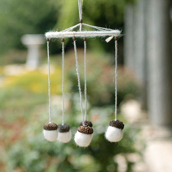 30 amazing diy wind chime ideas tutorials hative for Homemade chimes