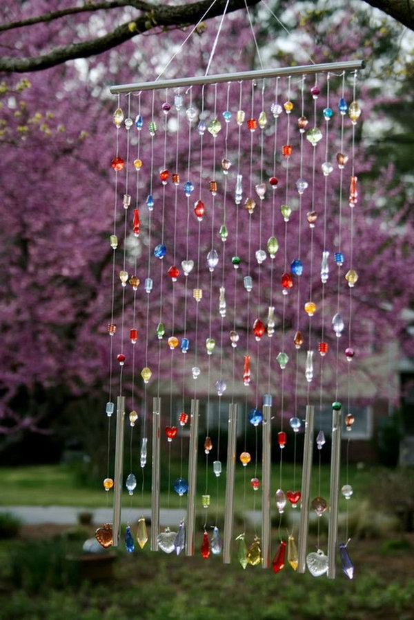 Colorful Beads Wind Chime.