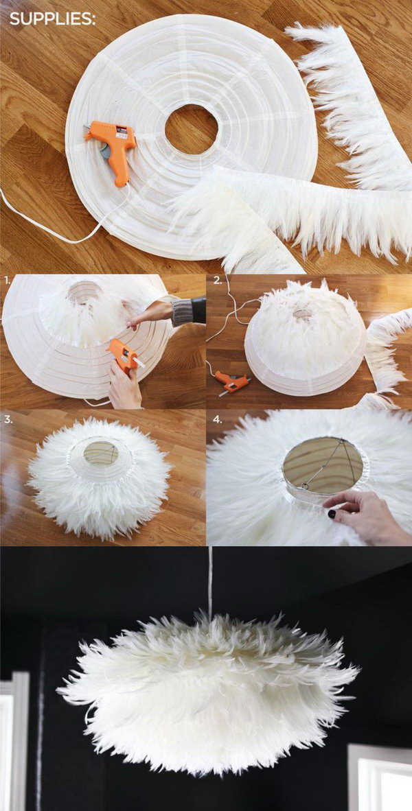 25 Fantastic Diy Chandelier Ideas And Tutorials Hative