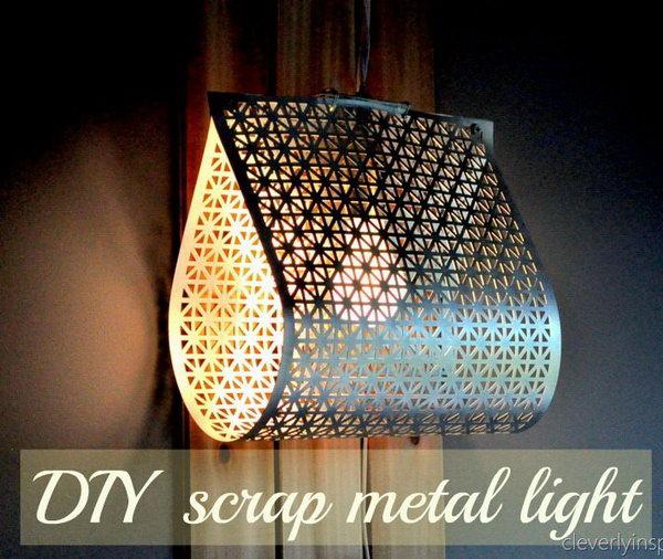 25 fantastic diy chandelier ideas and tutorials hative - Diy chandelier kit ...