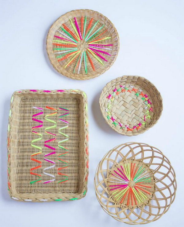 25 DIY Yarn Crafts - Tutorials & Ideas for Your Home ...