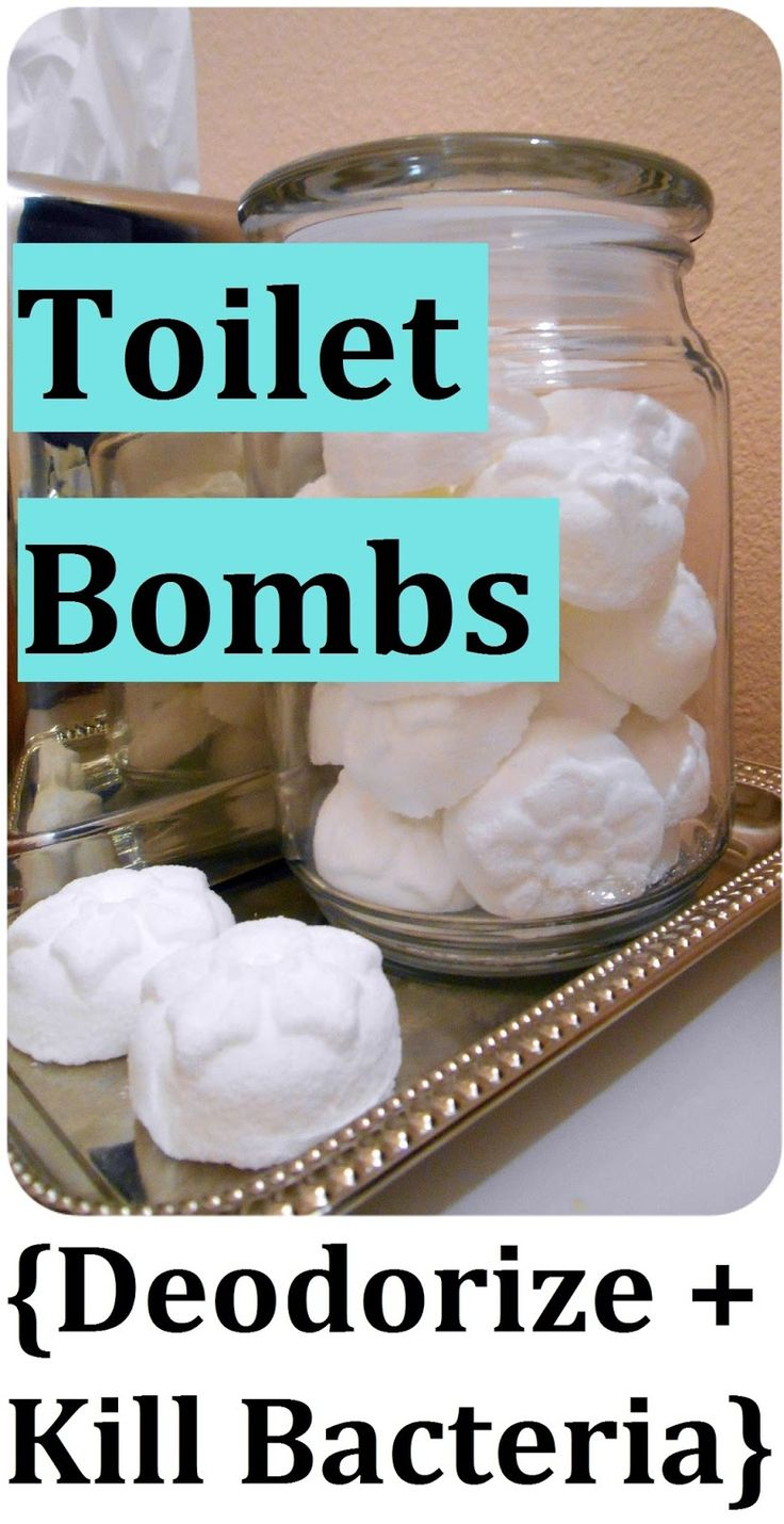 DIY Toilet Cleaning Bombs.