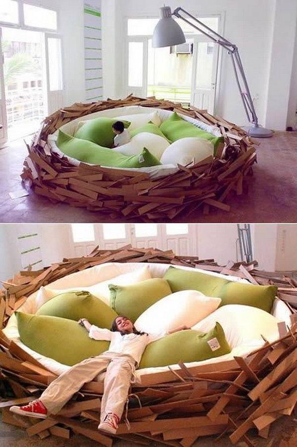 The Giant Birdsnest Bed.