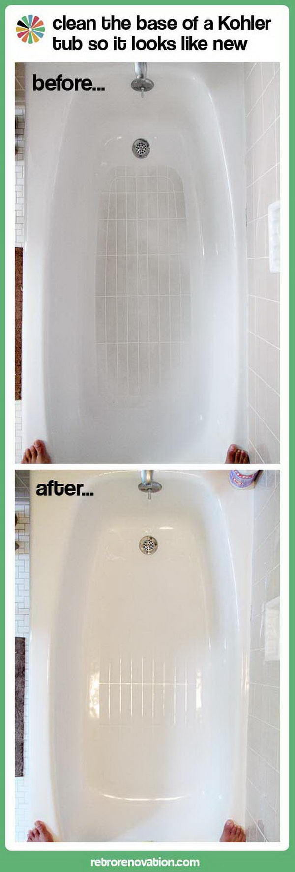 Bathroom cleaning tips and tricks hative for How to clean a bathroom step by step