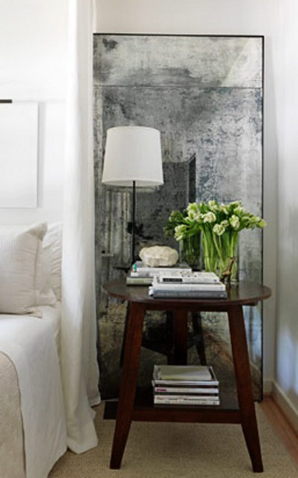 How to Make Your Own Antique Look Mirror.