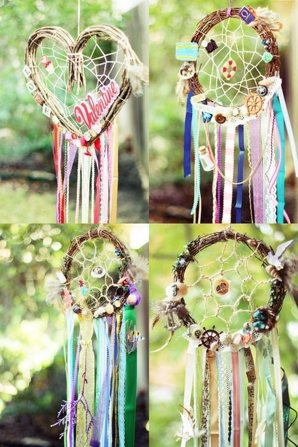 Indigenous made dream catchers