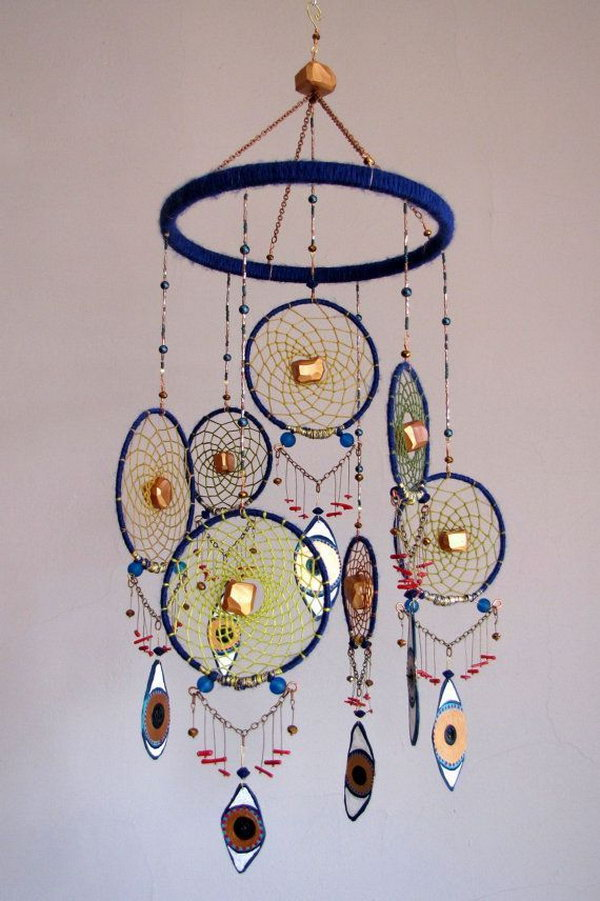 Beautiful dream catchers images for Ideas for making dream catchers