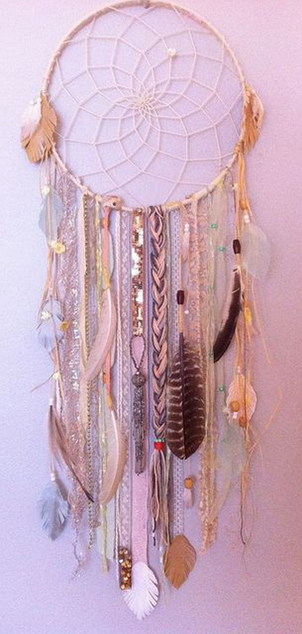 diy project ideas tutorials how to make a dream catcher ForIdeas For Making Dream Catchers