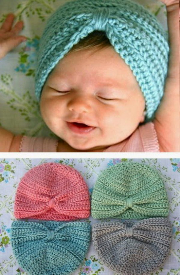 Elizabeth Crochet Hat Pattern For Child : Free Easy Crochet Patterns For Beginners - Hative