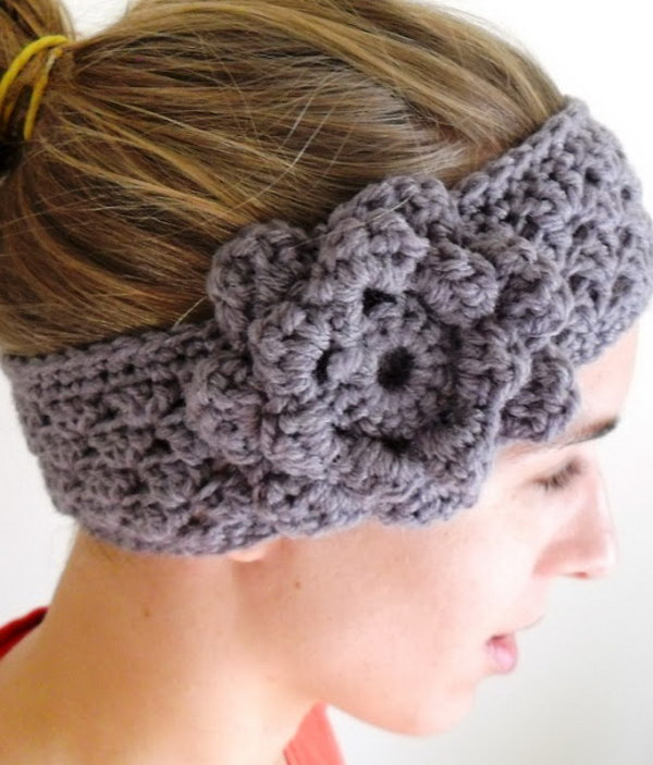 Crochet Ear Warmer : Crochet Ear warmer.