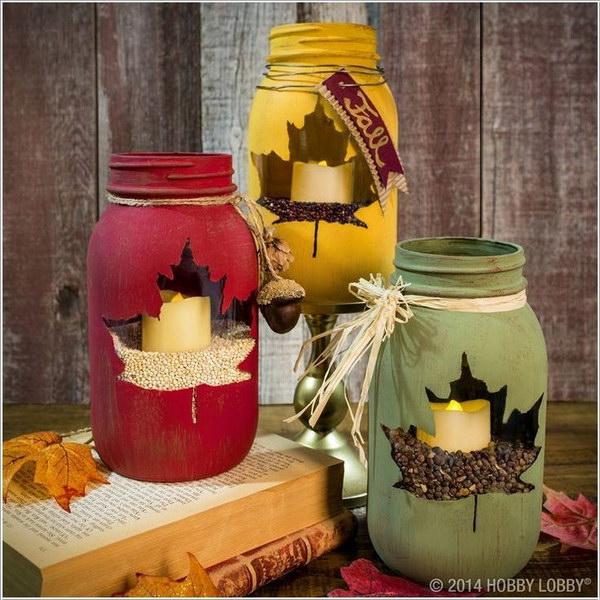 Awesome Festive Mason Jar Crafts Hative