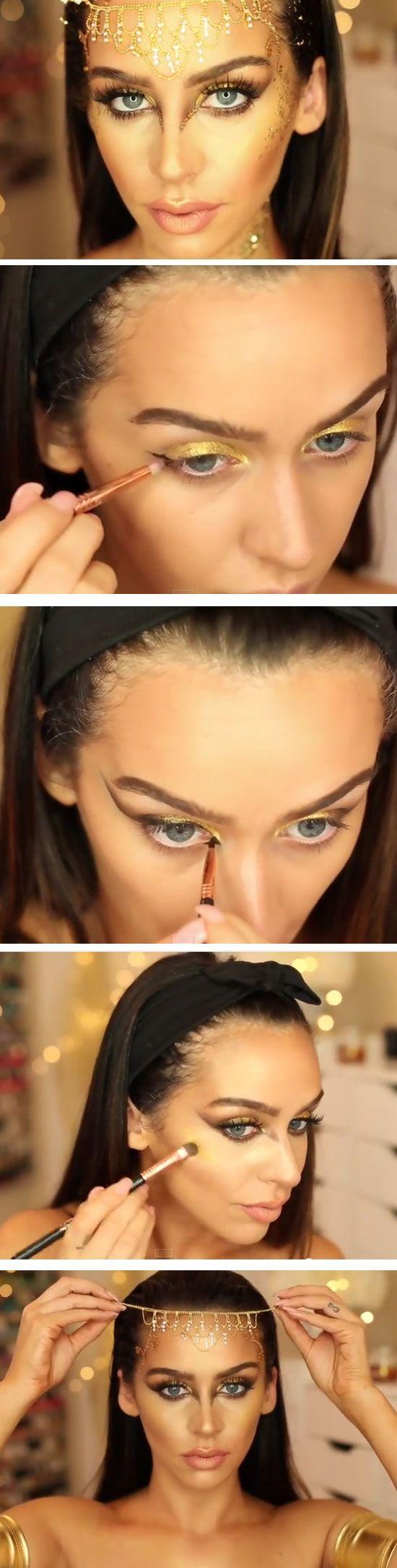 Golden Goddess Makeup Tutorial