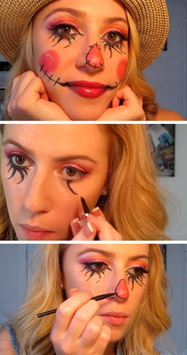 25+ Super Cool Step by Step Makeup Tutorials for Halloween - Diy Halloween Makeup Tutorials