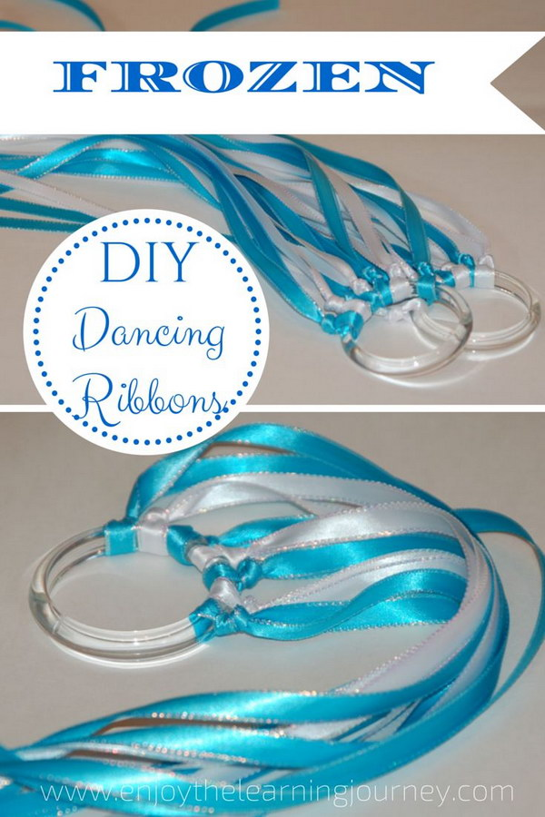 Easy Frozen Dancing Ribbons.