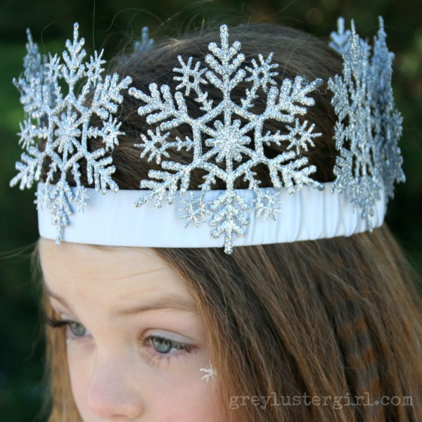 DIY Ice Queen Crown.