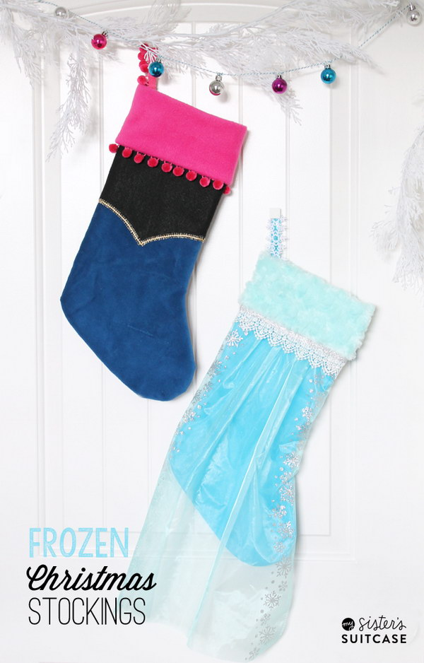 DIY Frozen Stockings