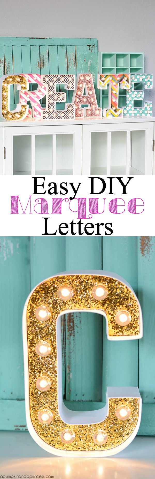 diy marquee letters diy letter ideas amp tutorials hative 21387