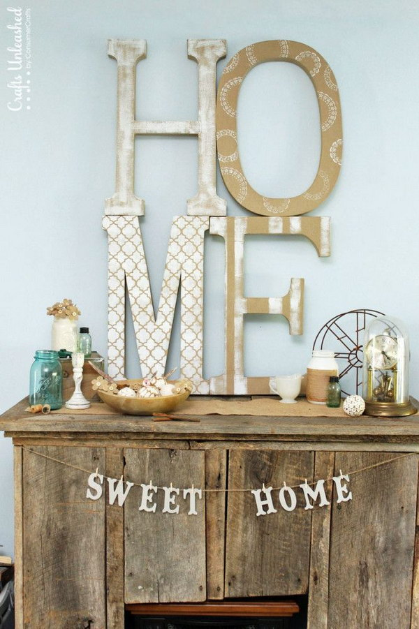 Extra Large DIY Letters
