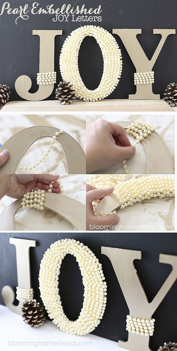 Diy letter ideas tutorials hative for Decoration 5 letters
