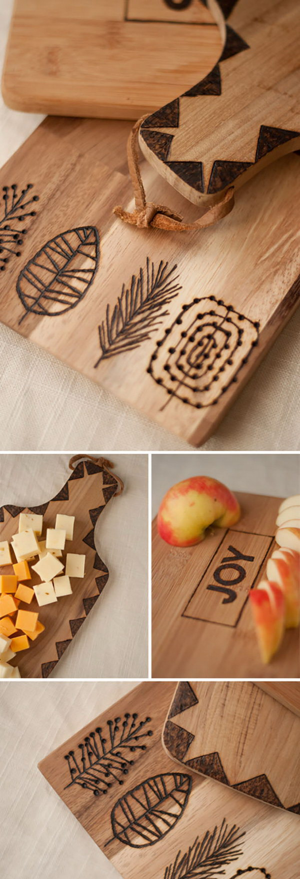 Diy personalized gifts for your loved ones hative for Diy personalized wood cutting board
