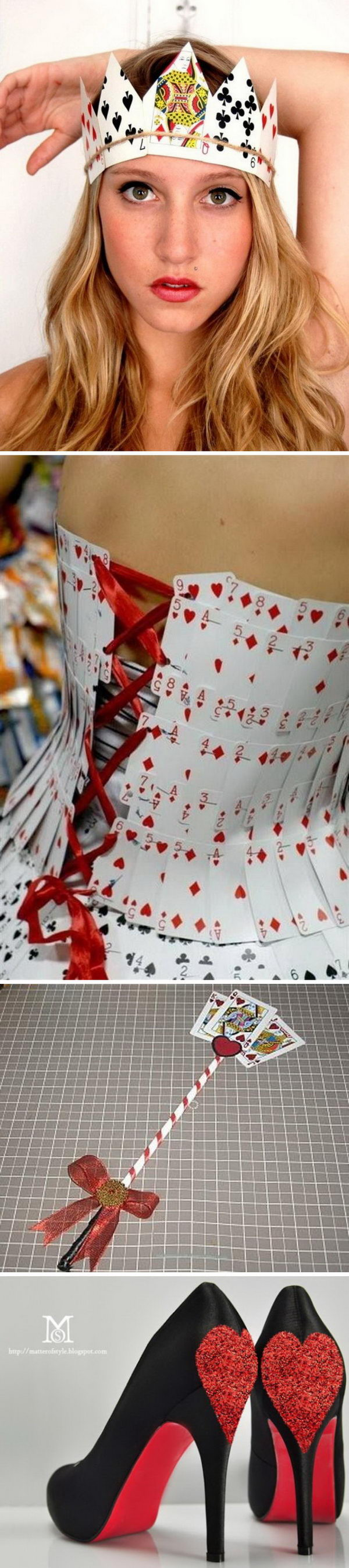 Queen of Hearts Costume Ideas and DIY Tutorials.