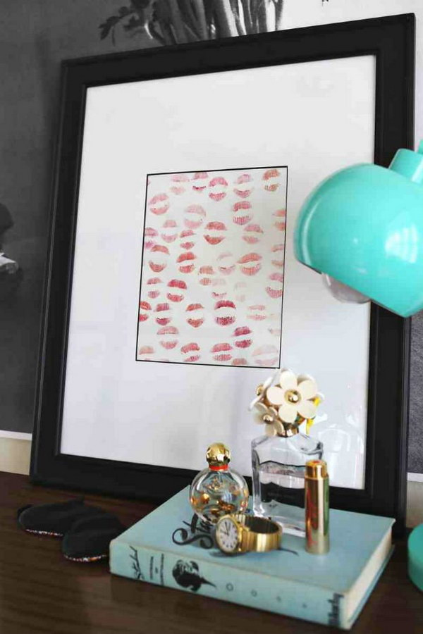 homemade lipstick art create this sweet personalized lipstick art for your boyfriend easy and - Homemade Christmas Gifts For Boyfriend