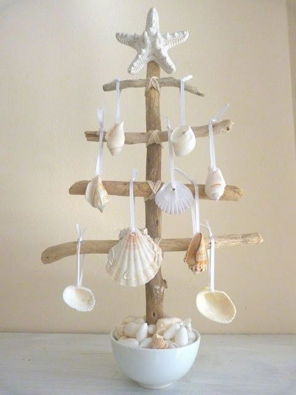 Beach Theme Christmas Ornaments