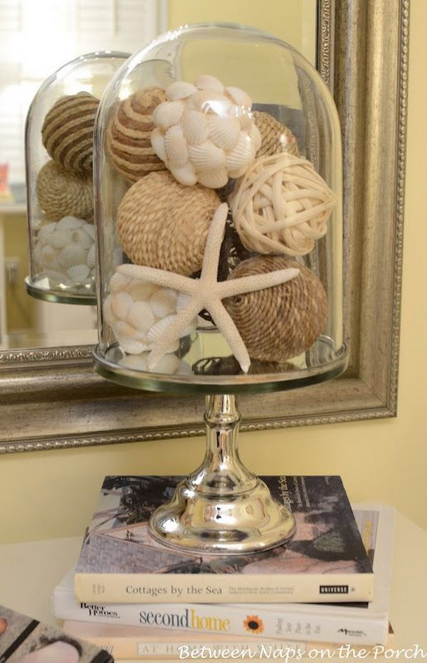 Diy beach inspired holiday decoration ideas hative for Summer beach decor