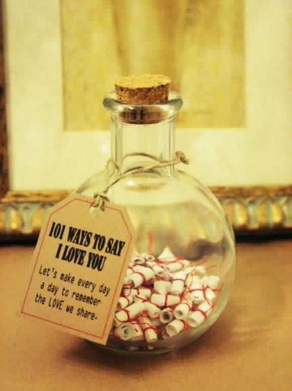 101 Ways to Say I Love You.