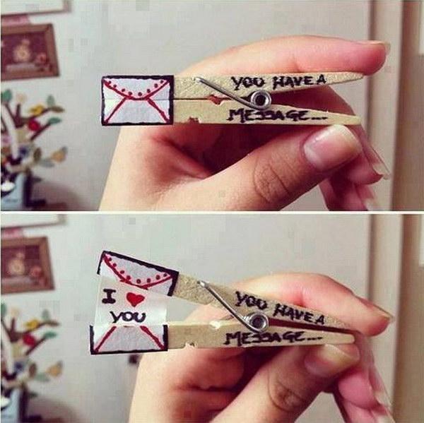 Подарок сделанный для девушки на день влюбленных