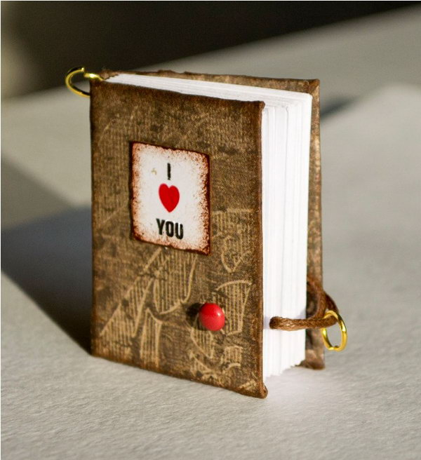 Maniature Books That Are Telling Your Love Story.