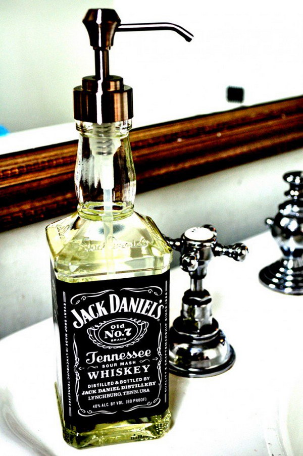 Jack Daniel's Soap Dispenser.