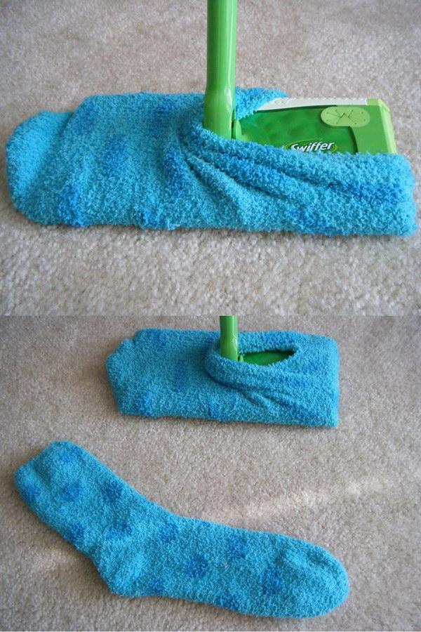 wiffer Dust Socks.