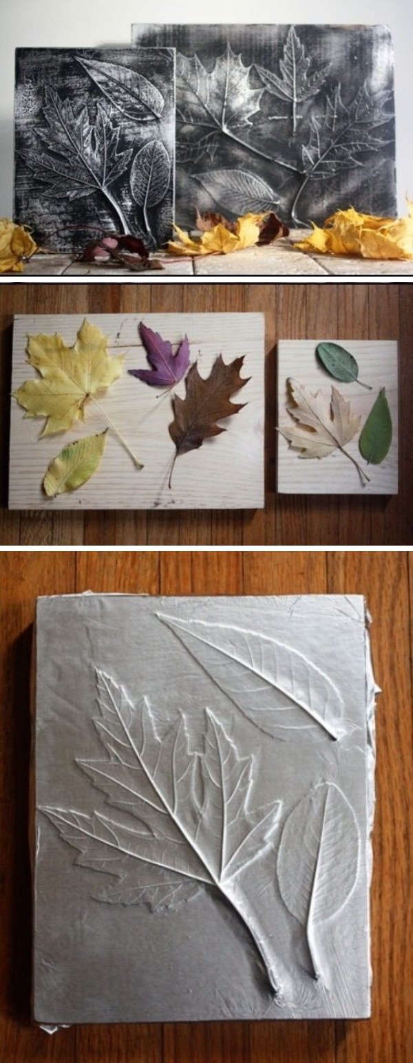 Fall Leaf Wall Art.