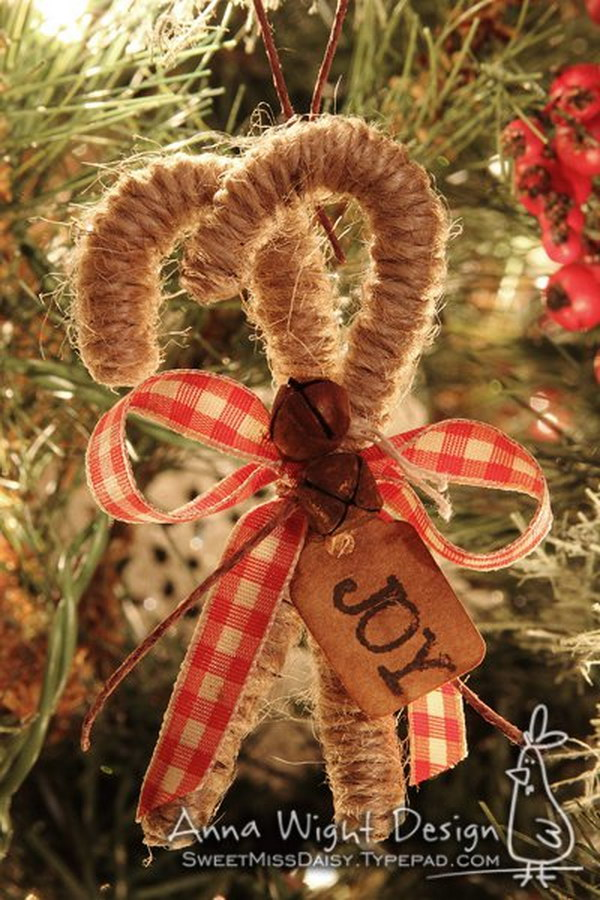20 homemade christmas decoration ideas tutorials hative - Deco de noel naturelle ...