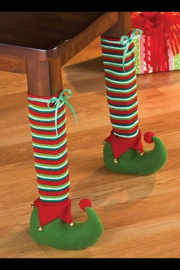 Christmas Elf Table Legs.