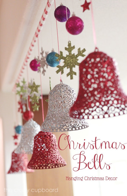 20 homemade christmas decoration ideas tutorials hative for Hanging christmas decorations