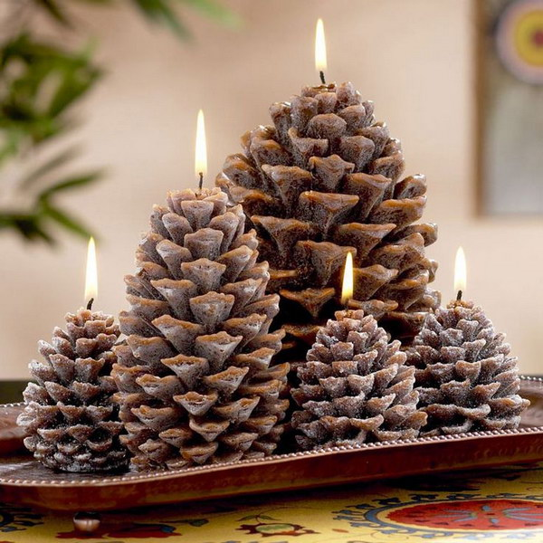 30+ Festive DIY Pine Cone Decorating Ideas