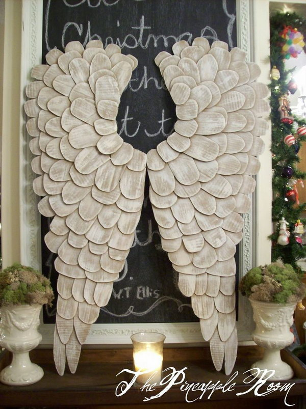 DIY Angel Wings from Cardboard