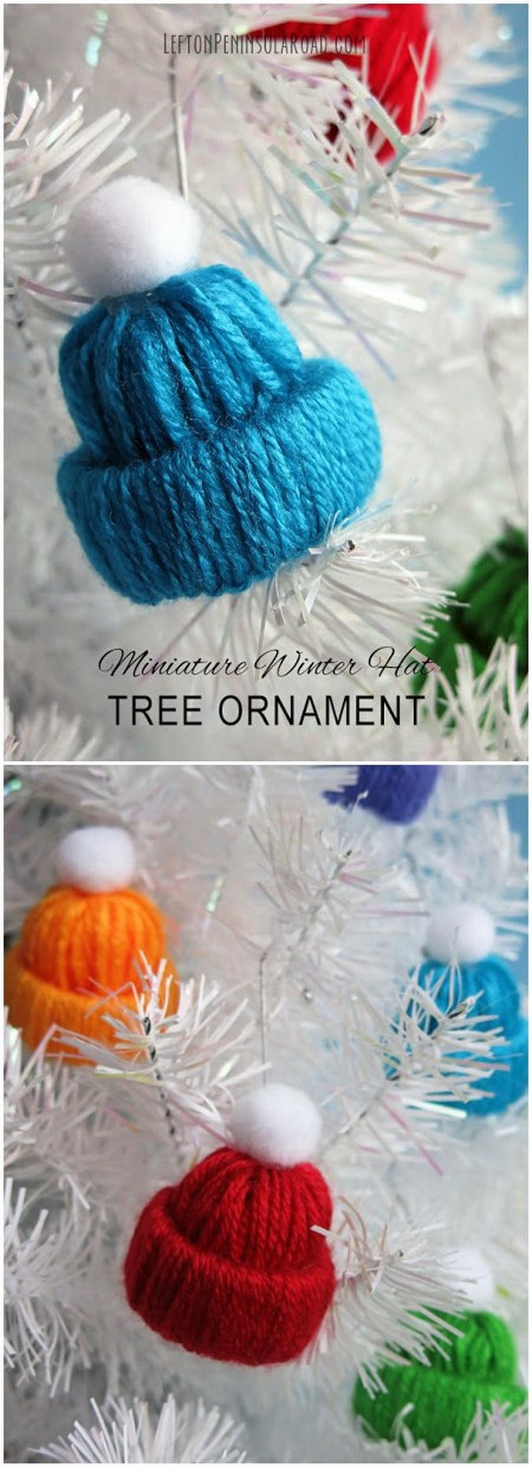 Woodland Christmas Tree Ornaments