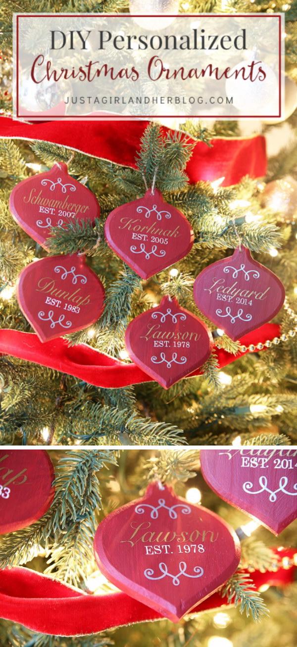 DIY Gems Inspired Ornaments.