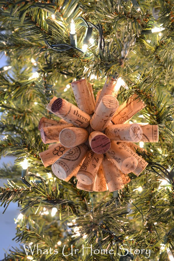 Cork Ball Ornament.